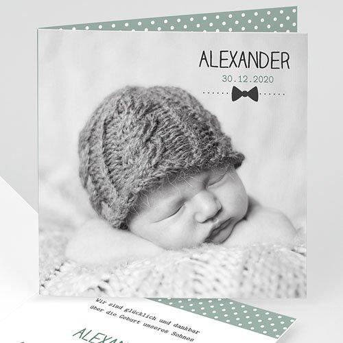Babykarten für Jungen - Fliege im Trend 35015