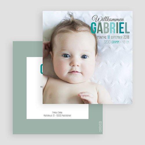 Geburtskarten für Jungen Nahaufnahme gratuit