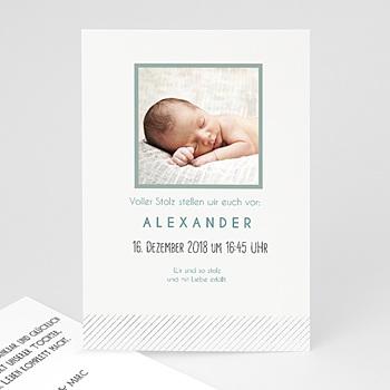 Babykarten für Jungen - Pures Glück - 1