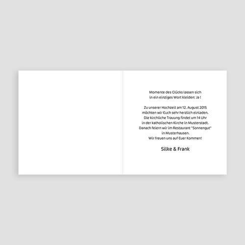 Einladungskarten Hochzeit  - Jalla 3509 test
