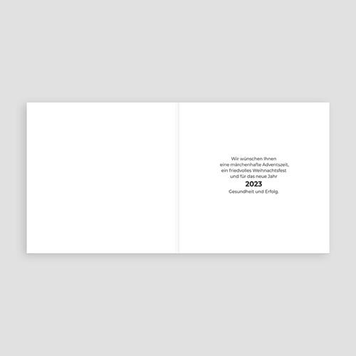 Weihnachtskarten - Sprechblase 35099 thumb