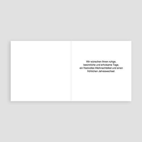 Geschäftliche Weihnachtskarten Durchblick pas cher