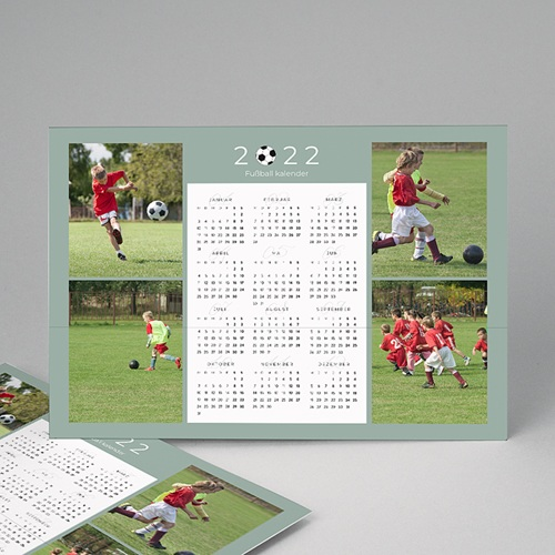 Kalender Jahresplaner Football
