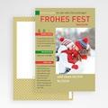 Weihnachtskarten Zeitung gratuit