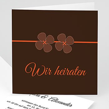 Einladungskarten Hochzeit  - Karten Hochzeit - 1