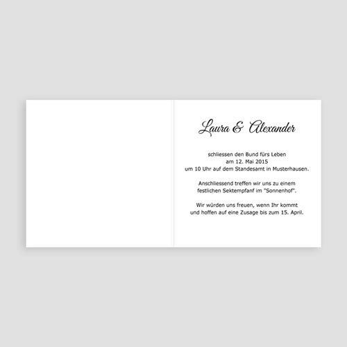 Hochzeitseinladungen modern - Josephine 3513 preview