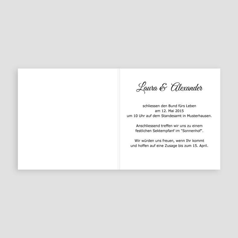 Orange Hochzeitseinladungen Josephine pas cher