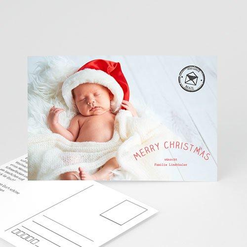 weihnachtskarten postkarte kostenloser probedruck. Black Bedroom Furniture Sets. Home Design Ideas
