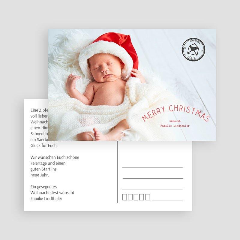 Weihnachtskarten Postkarte gratuit