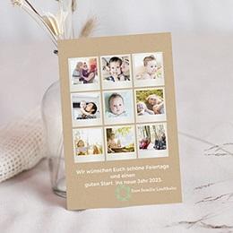 Neujahr Weihnachten Polaroid Charme