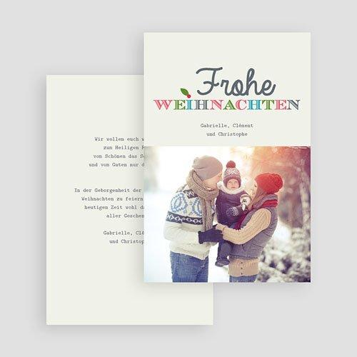 Weihnachtskarten - Typo 35223 thumb