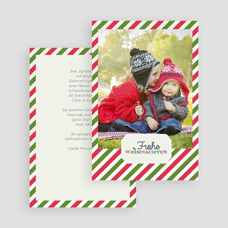 Weihnachtskarten Zimtsterne gratuit