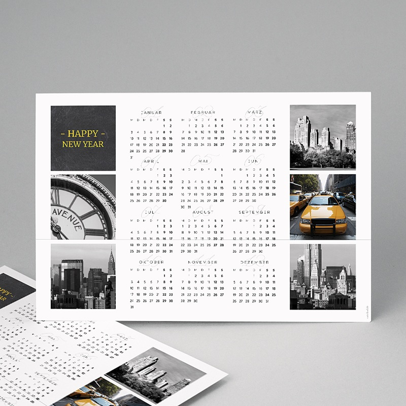 Kalender Jahresplaner Weltreise