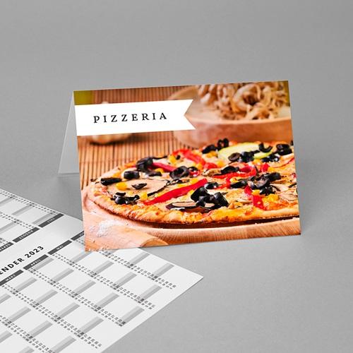 Taschenkalender Pizza