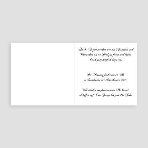 Hochzeitseinladungen modern - Vergoldet 3529 preview