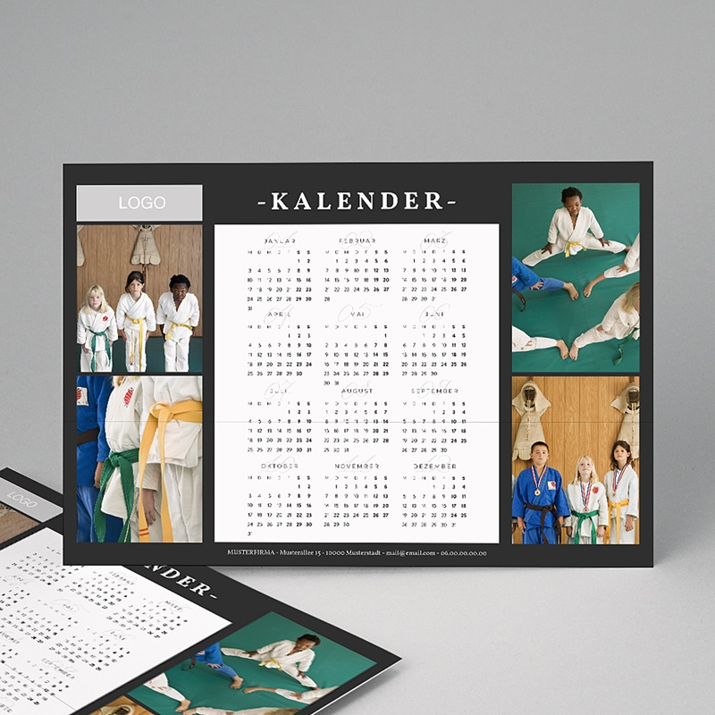 Fotokalender Pro schwarz