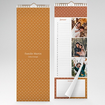 Ewiger Kalender - Erbsendesign - 1