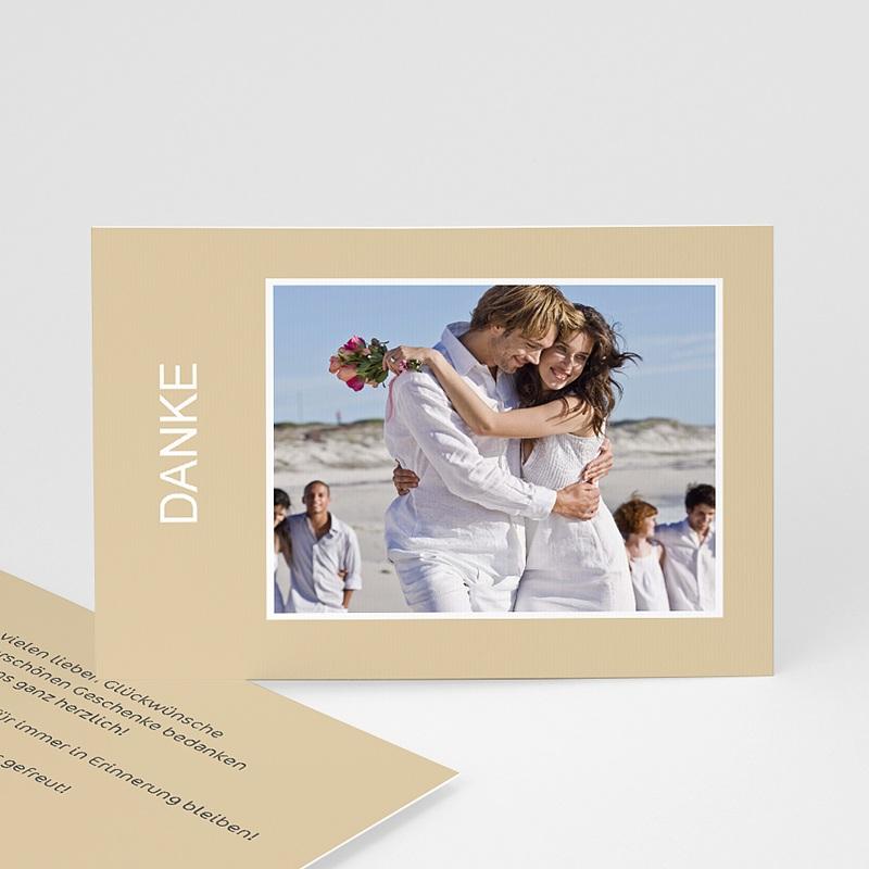 Danksagungskarten Hochzeit  Charmant Romantisch