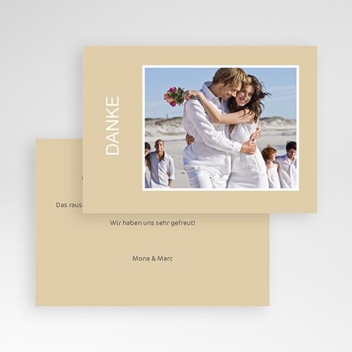 Danksagungskarten Hochzeit  Charmant Romantisch pas cher