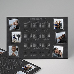 Kalender Loisirs Tafelkreidedesign