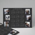 Kalender Jahresplaner Tafelkreidedesign