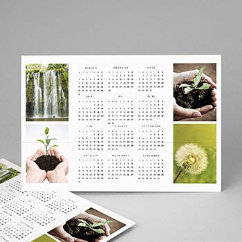 Kalender fur Firmen 2020 - Schlichte Natur - 1