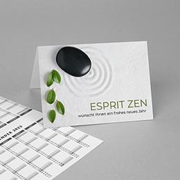 Calendrier Professionnel Loisirs Zen