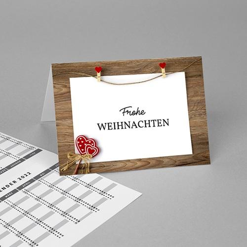 Taschenkalender Holz und Wasser