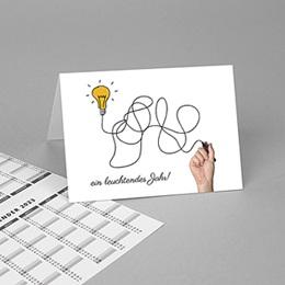 Taschenkalender - Glühbirne - 1
