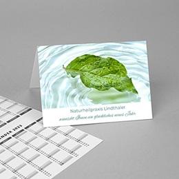 Taschenkalender - Blatt und Wasser - 1