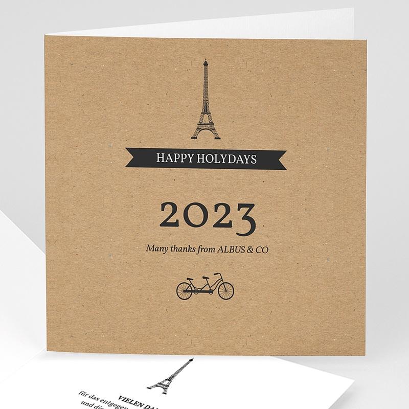 Weihnachtskarten - Paris Craft 35506 thumb
