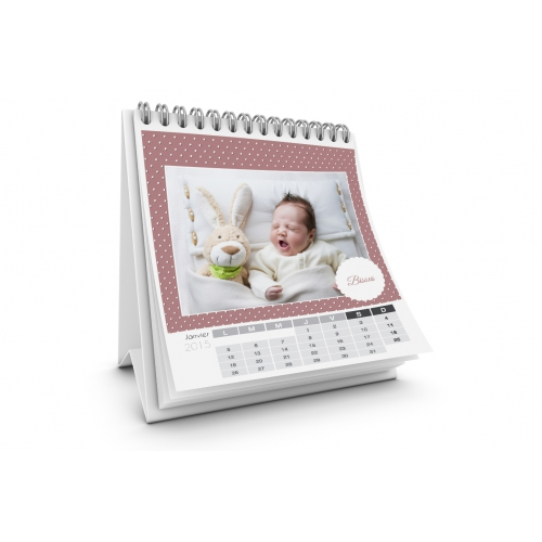 Tischkalender  - Kleine Punkte 35553