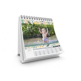 Tischkalender  - Blumendesign - 1