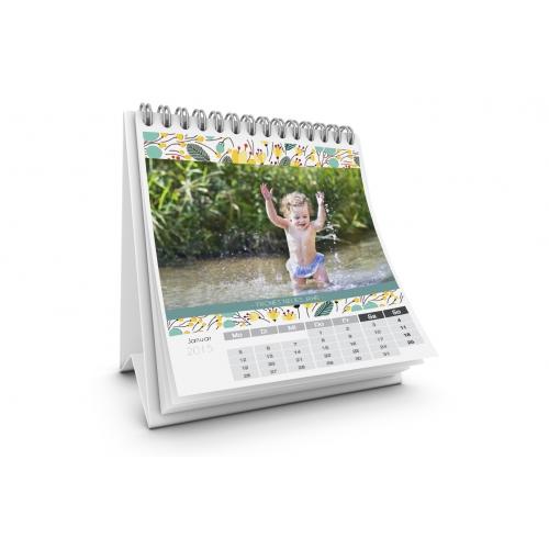 Tischkalender  - Blumendesign 35679