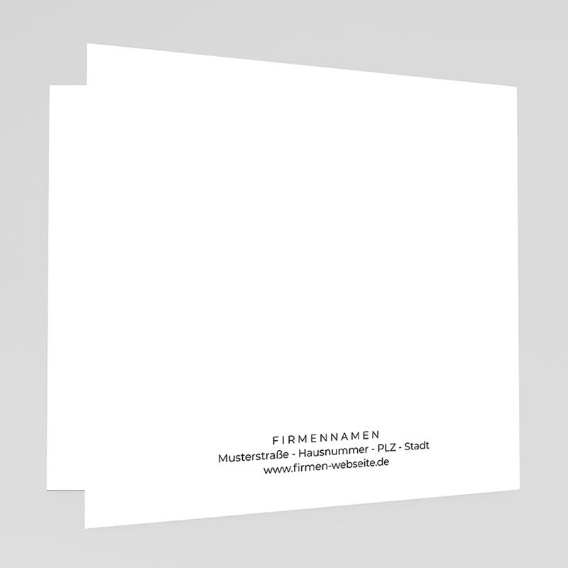 Geschäftliche Weihnachtskarten Grüne Idee gratuit