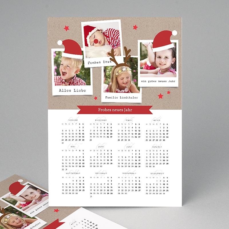 Kalender Jahresplaner Zauberhafte Weihnachten