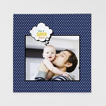 Fotobücher Quadratisch 30 x 30 cm - Papa ist ein Superheld - 1