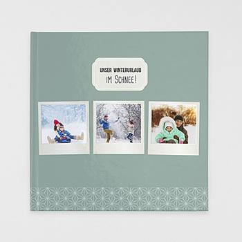 Fotobücher Quadratisch 30 x 30 cm - Polaroid Winter - 1