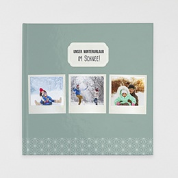 Fotobuch Quadratisch 30 x 30 cm - Polaroid Winter - 1