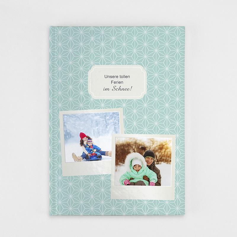 Fotobücher A4 Hochformat Polaroid und Winter