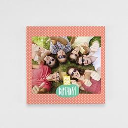 Fotobuch Quadratisch 20 x 20 cm - Bunter Geburtstag - 1