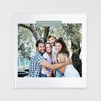 Fotobücher Quadratisch 30 x 30 cm - Schlichtes Design - 1