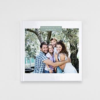 Fotobücher Quadratisch 20 x 20 cm - Schlichtes Design - 1