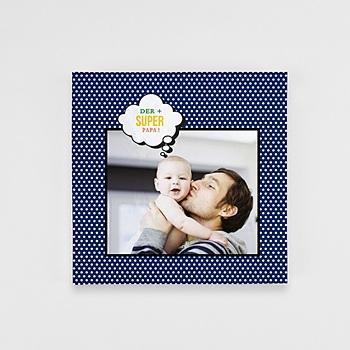Fotobücher Quadratisch 20 x 20 cm - Papa ist ein Superheld - 1
