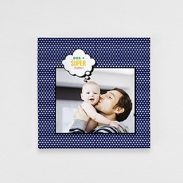 Fotobuch Quadratisch 20 x 20 cm - Papa ist ein Superheld - 1
