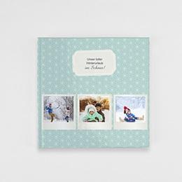 Fotobuch Quadratisch 20 x 20 cm - Polaroid Winter - 1