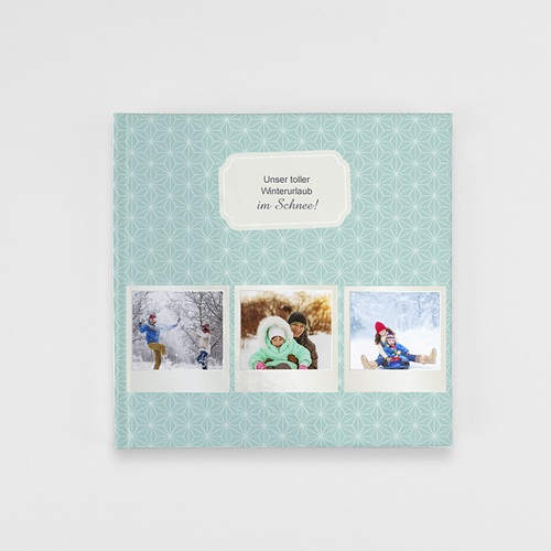 Fotobücher Quadratisch 20 x 20 cm Polaroid winterlich