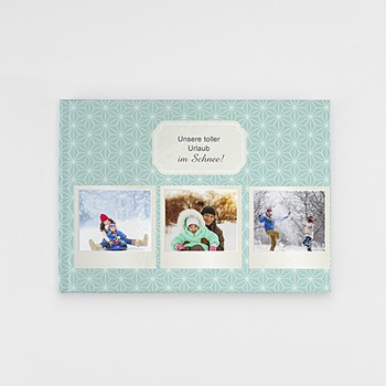 Panorama Fotobücher A5 Querformat - Polaroid Winter - 0