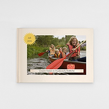 Panorama Fotobücher A5 Querformat - Globetrotter - 0