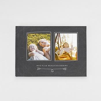 Panorama Fotobücher A5 Querformat - Nostalgie Kreide - 0